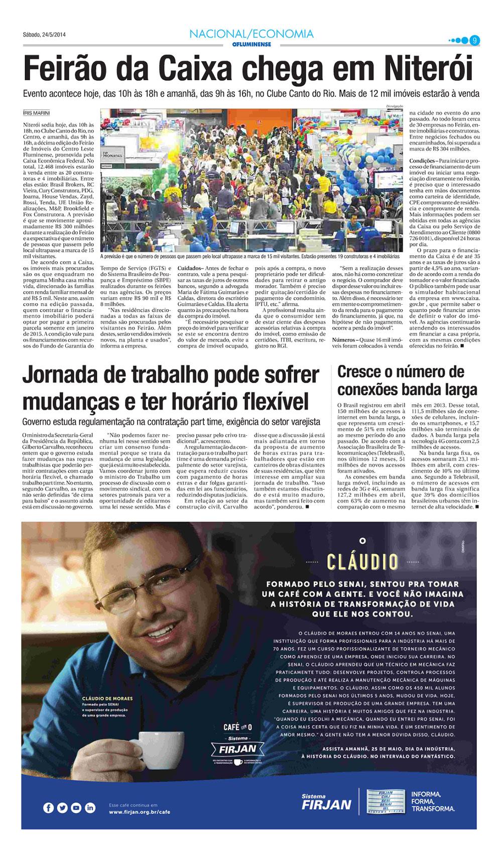 Jornal O Fluminense - Feirão