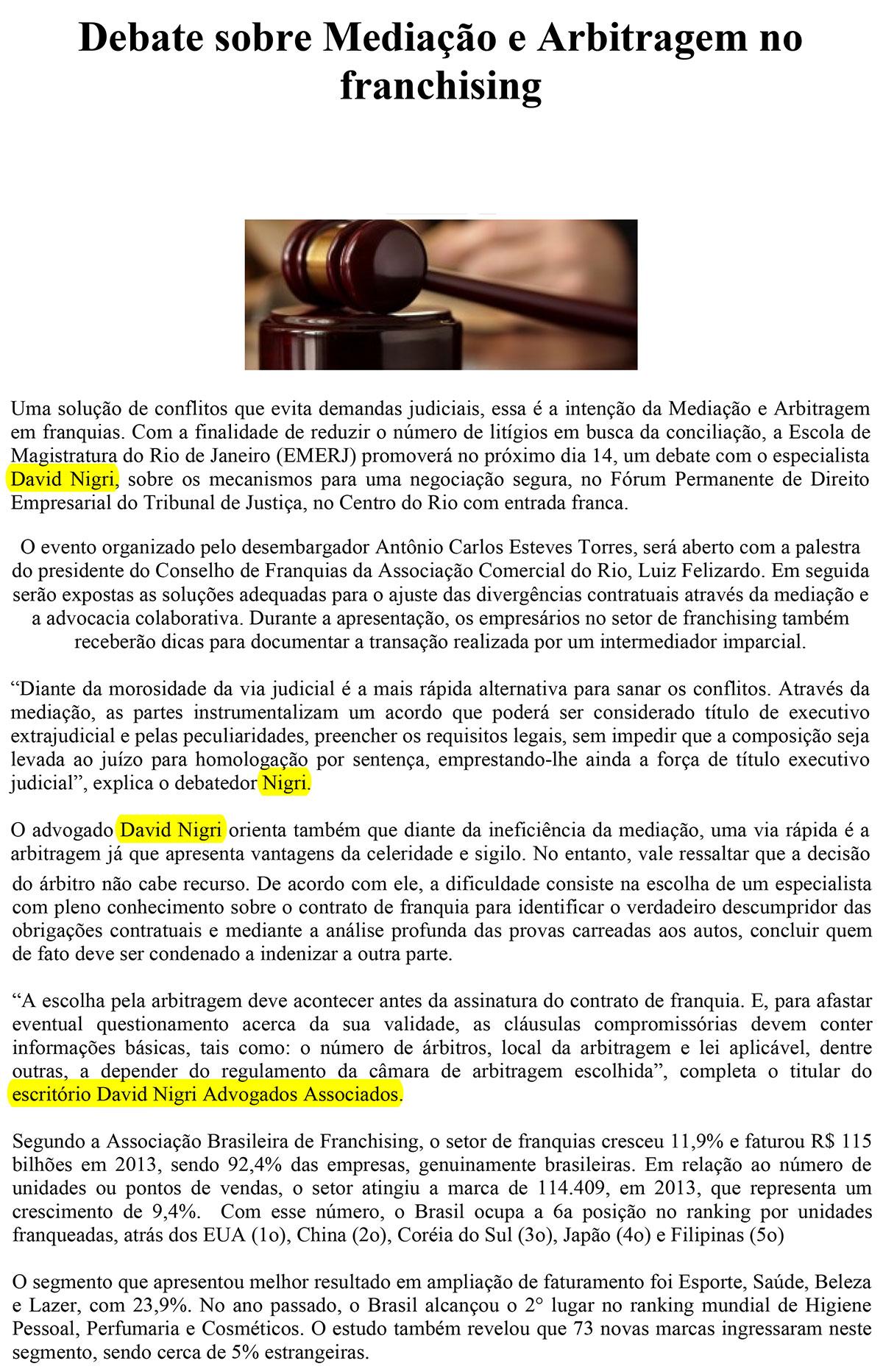 Debate-sobre-Mediacao-e-Arbitragem-no-franchising-Acontece-no-Franchising-Sua-Franquia-O-Portal-dos-Bons-Negocios