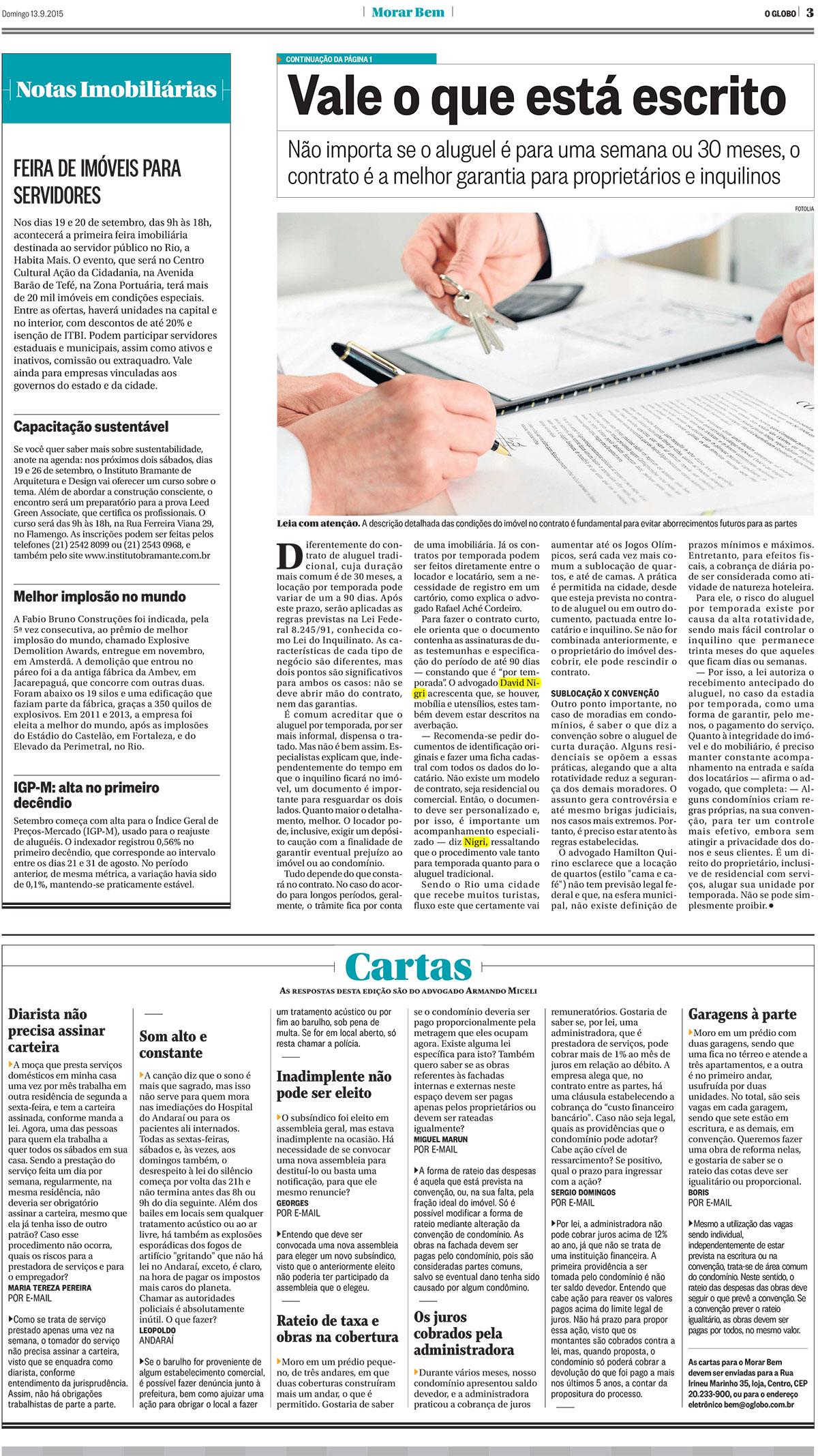 O_Globo_Morar_Bem_contrato